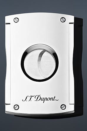 S.T. Dupont Maxijet Cutter Cigar Cutter - Chrome by S.T. Dupont