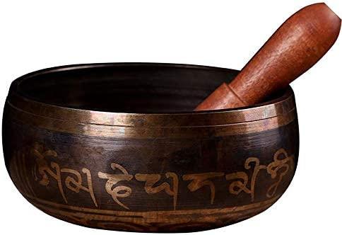 YDJGY Cuenco Tibetano Cuenco, tazón de Tono de Buda nepalí ...