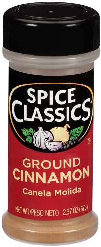 Spice Classics Ground Cinnamon, 2.37 oz (Case of 12) by Spice Classics