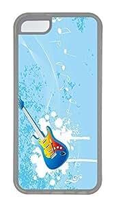 Blue Guitar Cases For iPhone 5C - Summer Unique Cool 5c Cases