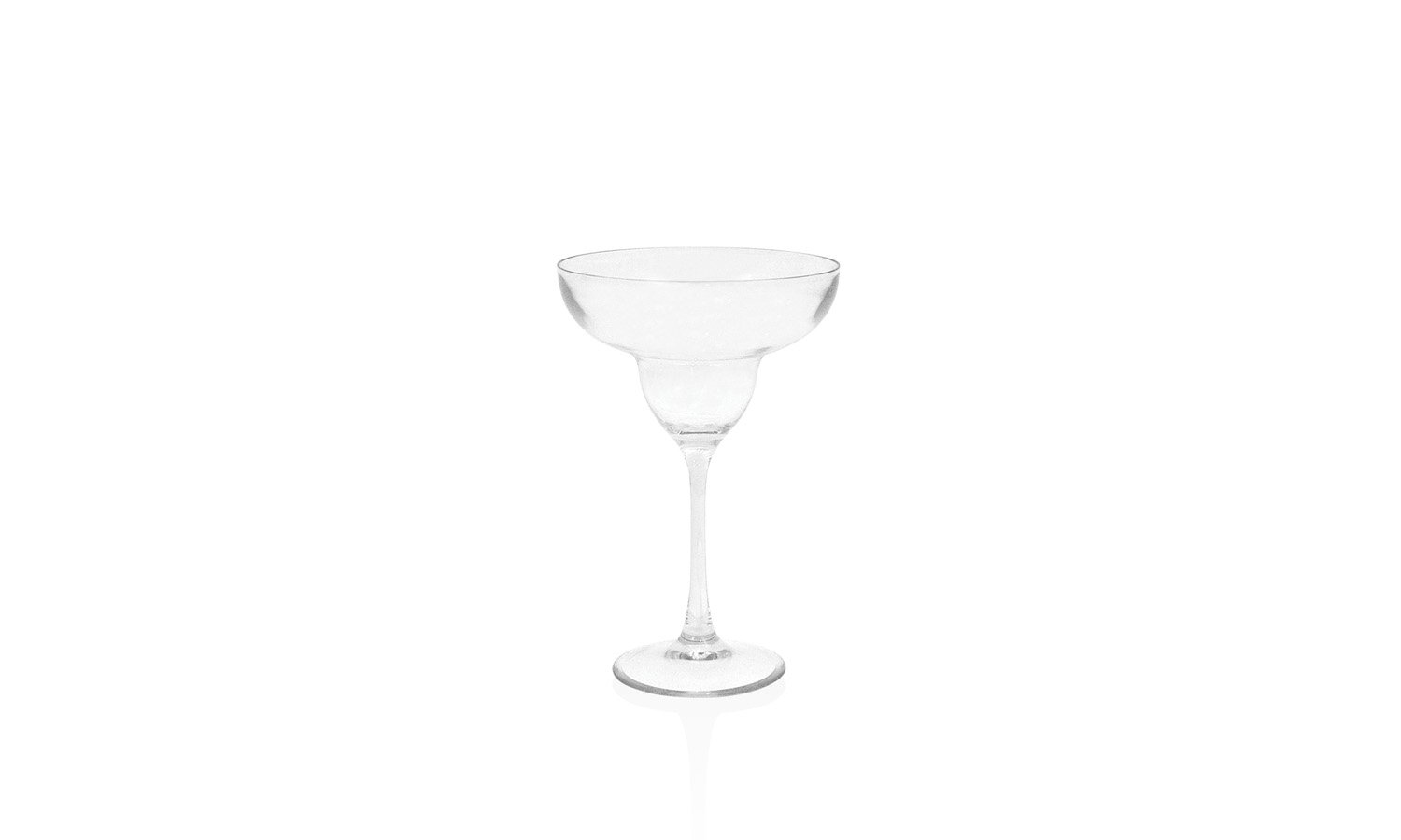 Front of the House AMG001CLT23 Drinkwise Margarita, 7.25'' Height, 4.75'' Maximum Diameter, 11 oz, Polycarbonate, Clear, (Pack of 12)