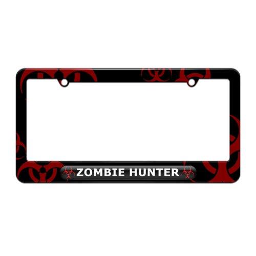 license plate frame biohazard - 9