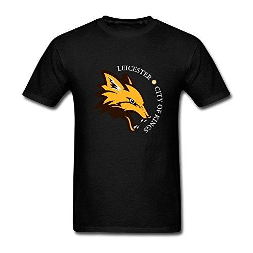 RB9265 2016 England Premier League Soccer Champion Leicester City T-Shirts For Men ()