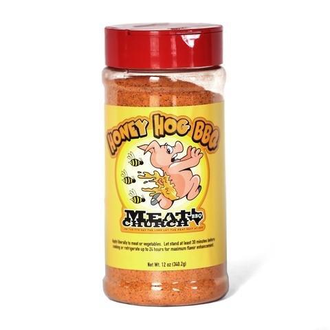 Meat Church Rub & Seasoning 10.5-12oz (Pack of 3) Select Flavor (Honey Hog BBQ Rub 12oz) by Meat Church