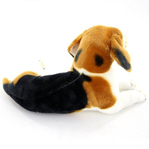 jesonn giant realistic stuffed animals beagle dog plush toys 21 6 or 55cm 1pc ebay. Black Bedroom Furniture Sets. Home Design Ideas