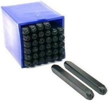 """Steel Numbers Punch Set 3//16/"""" 5mm Digital 0 to 9 Number Metal Stamp Set"""