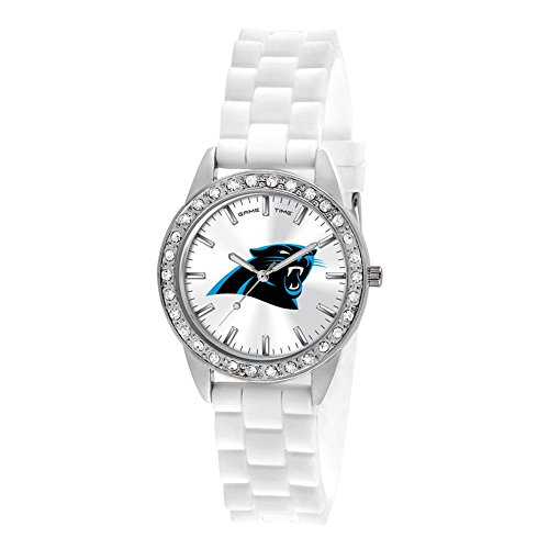 Gifts Watches Ladies NFL Carolina Panthers Frost Watch ()
