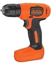 Black+Decker BDCD8-QW Taladro atornillador sin cable 7.2V con batería de litio