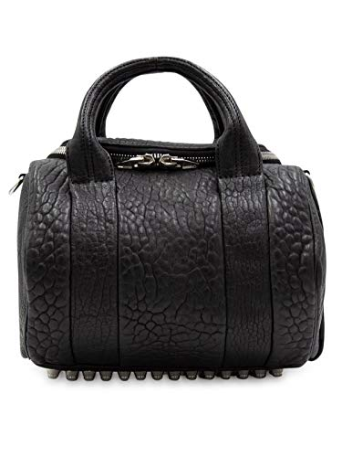 Alexander Wang Women's 2099S0031l083001 Black Leather Handbag (Handbags Alexander Wang)