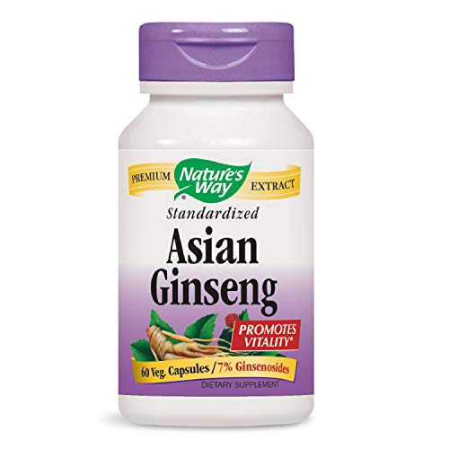 Nature's Way Ginseng, Asian Standardized (Packaging May ()