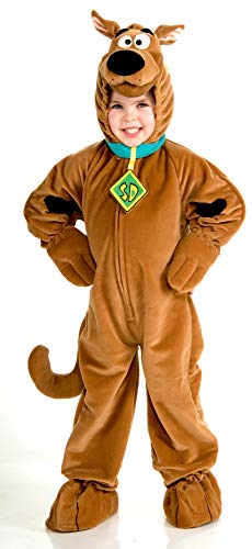 Scooby - Doo Child's Deluxe Scooby Costume, Large ()
