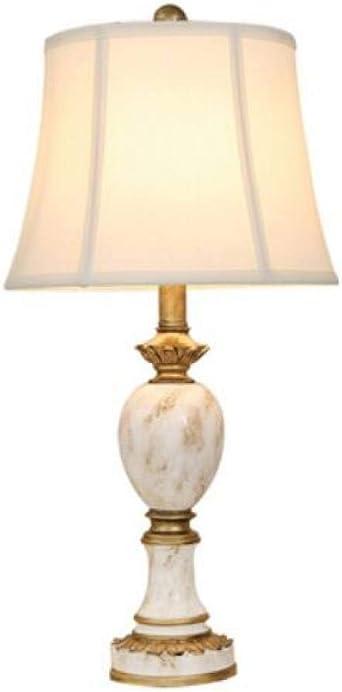 lámparas de pie LGFSG Lámpara de mesa rosa tela moderna sala de estar dormitorio dormitorio mesita de noche simple país LED lámpara de pie, lámpara de mesa: Amazon.es: Iluminación