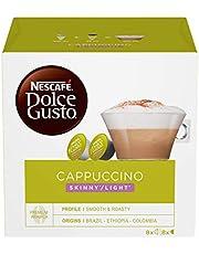 Nescafé Dolce Gusto Cappuccino Light, Cappuccino Light 3 Confezioni Da 16 Capsule, 48 Capsule