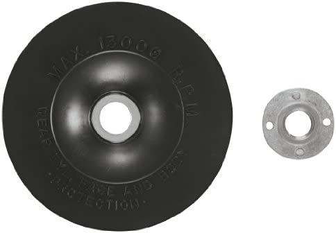 X-LOCK Backing Pad with X-LOCK Clip Bosch MGX0500 5 In Medium Hardness
