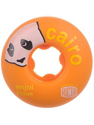 電圧検体タイトRicta Wheels Enjoi Cairo SLIX 81b Skateboard Wheel, 53mm by Ricta