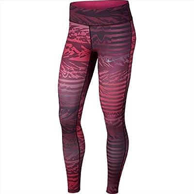 Nike W Collant W nK Pwr Essntl tght pr Monarch Purple/Lethal Pink, sans femmes, Noir, XS