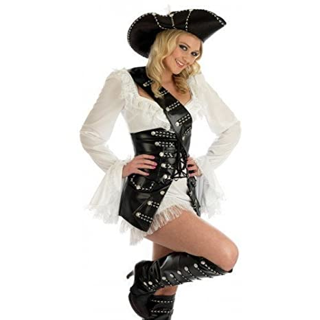 Para mujer sexy de capa y espada Babe de esqueleto de Jack Sparrow ...