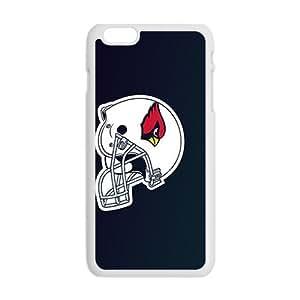 Personal Customization Arizona Cardinals hood hat Hot sale Phone Case for iPhone 6 Plus
