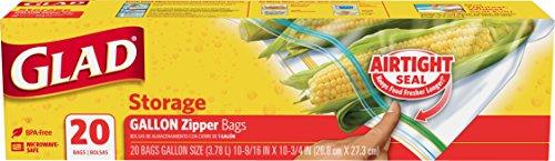 zipper gallon freezer bags - 3