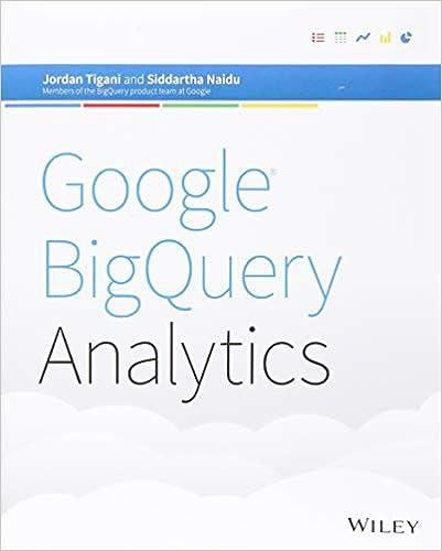 Google BigQuery Analytics: Jordan Tigani: 9781118824825: Amazon com
