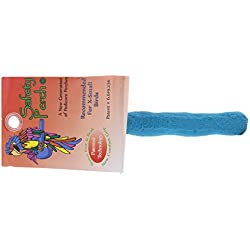 Sweet Feet and Beak Comfort Grip Natural Patented Safety Perch for Birds, X-Small - Blue- Helps Keep Nails and Beaks in top condition
