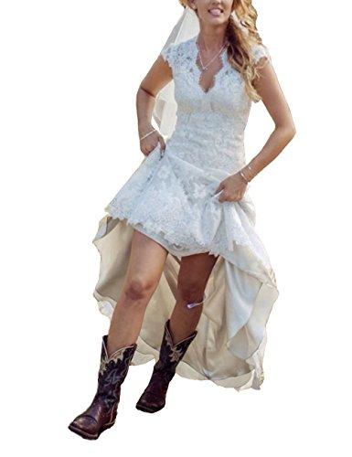 high low bridal dresses - 9