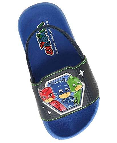PJ Mask Toddler and Kids Flip Flop Thong Sandals Blue/Red