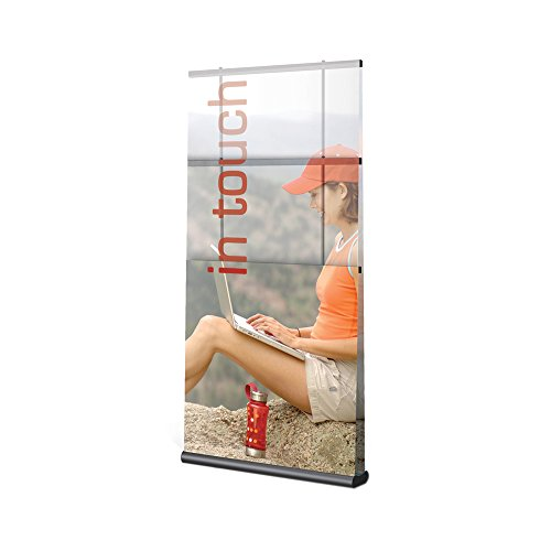 Testrite Visual Office Tradeshow Display Mercury Retractable Banner Stand 24