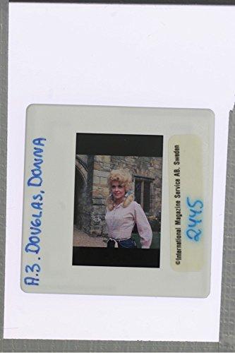 Smiling Portrait (Slides photo of Donna Douglas' smiling)