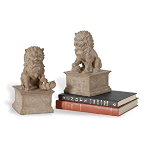 "Port 68 Han Dynasty Bookends, Set of 2, 9"" Tall"