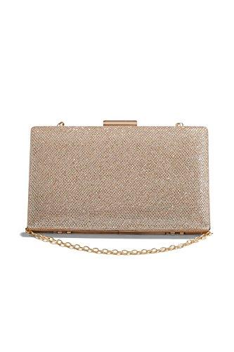 Gold Chain Handbag - 7