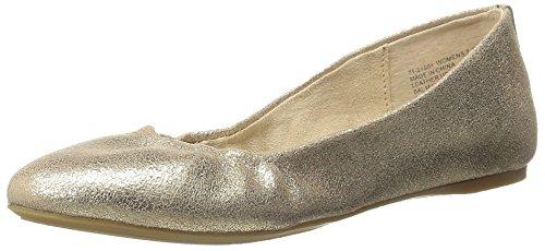 Gh Bas & Co. Womens Felicity Ballet Plat Goud