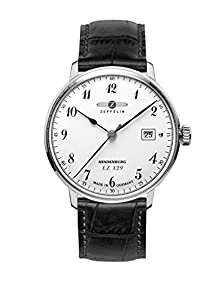 Graf Zeppelin LZ129 Hindenburg Series Swiss Quartz Dress Watch 7046-1