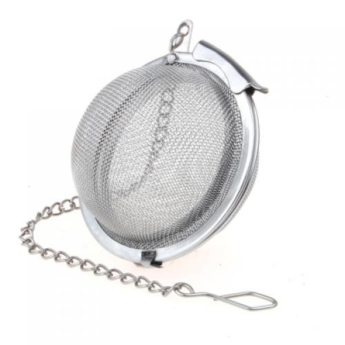 Reusable Stainless Steel Mesh Infuser Strainer Tea Ball 2 Inch
