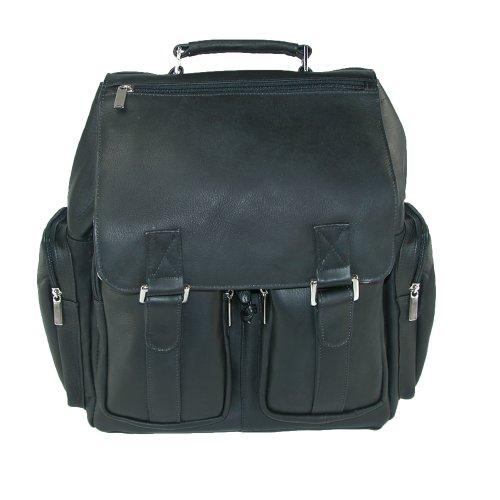 Iris Tyler Unisex JACKSON Leather Laptop Backpack