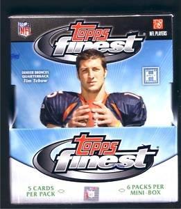 topps finest football hobby box - 8