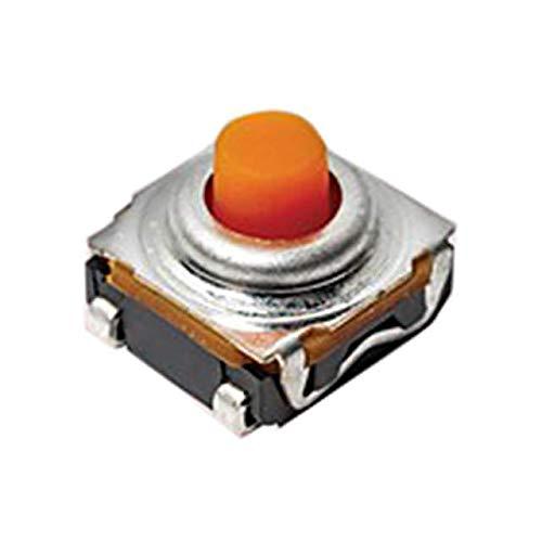 TACT 6.2 X 6.2, 5.1 MM H, 6.25N, (Pack of 100) (KSC461J 70SH LFS PF) by C&K
