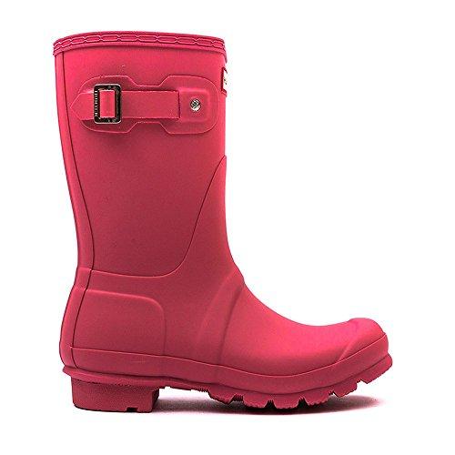 Hunter Orignal Short Pink Womens Wellington Boots Pink