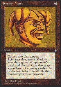 Magic: the Gathering Jester39;s Mask - Ice Age ()