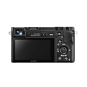 Sony Alpha a6000 Mirrorless Digital Camera 24.3 MP SLR Camera with 3.0-Inch LCD – Body Only (Black)