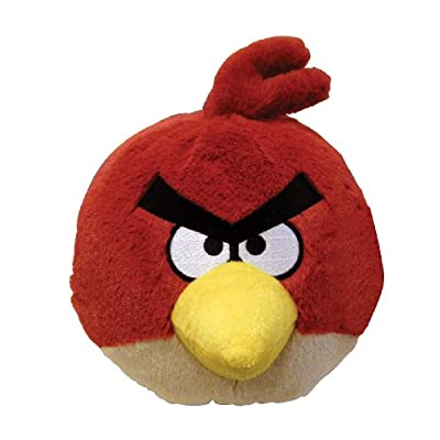Angry Birds 4 Inch Mini Plush Toy Red Bird: Toys & Games