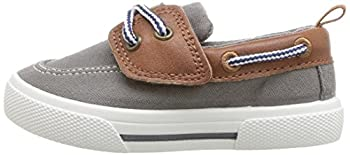 Carter's Boys' Cosmo Casual Slip-on Sneaker, Grey, 9 M Us Toddler 4