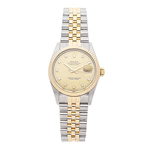 Rolex Datejust Mechanical (Automatic) Champagne Dial Mens Watch 16013 (Certified Pre-Owned)