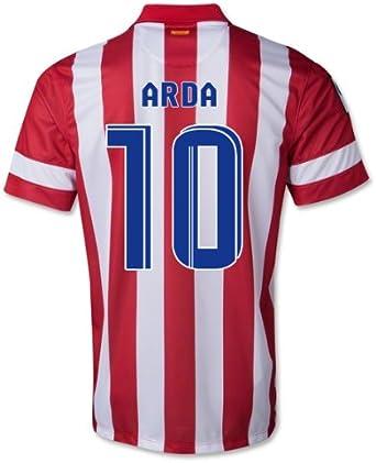 Nike Real Madrid Football Club Atlético de Madrid – Camiseta de fútbol 2013 – 14 Talla S, Hombre, Arda 10: Amazon.es: Deportes y aire libre