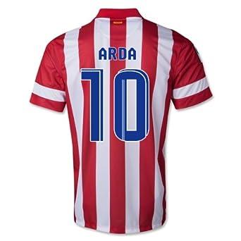 Nike Real Madrid Football Club Atlético de Madrid - Camiseta de fútbol 2013 - 14 Talla S, Hombre, Arda 10: Amazon.es: Deportes y aire libre
