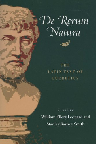 Book cover for De rerum natura