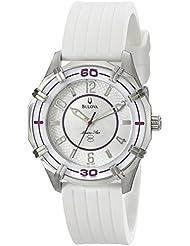 Bulova Womens 96L144 Solano Marine Star Rubber Watch
