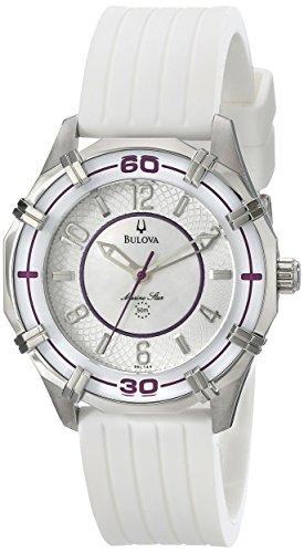Bulova Women's 96L144 Solano Marine Star Rubber Watch