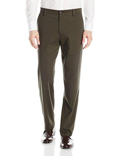 Dockers Men's Classic Fit Easy Khaki Pants D3, Olive Grove (Stretch), 34 ()