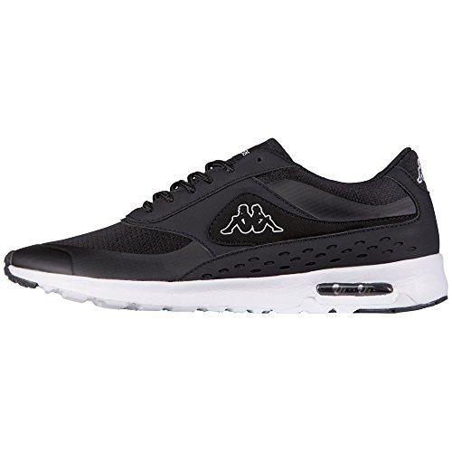 Kappa Milla Footwear Women, Synthetic/mesh - Zapatillas Mujer Negro (1110 Black/white)